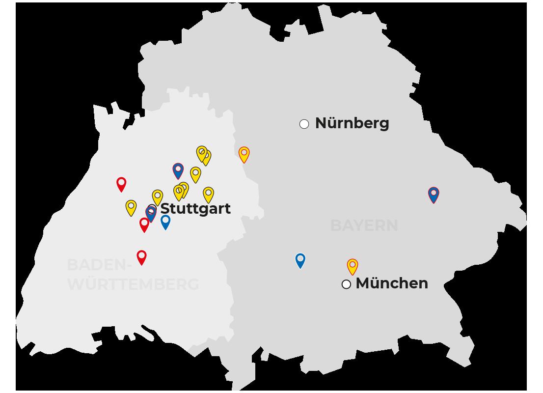 Sueddeutschland_Karte_Schaal_2021